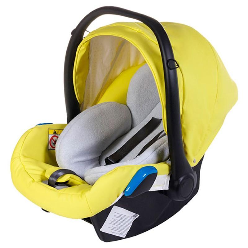 Детское автокресло люлька Adamex Kite кожа 100%  от 0 до 13 кг
