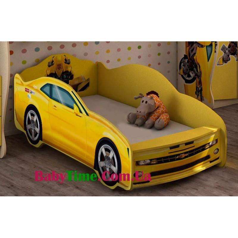 Детская кровать машина ТРАНСФОРМЕРЫ