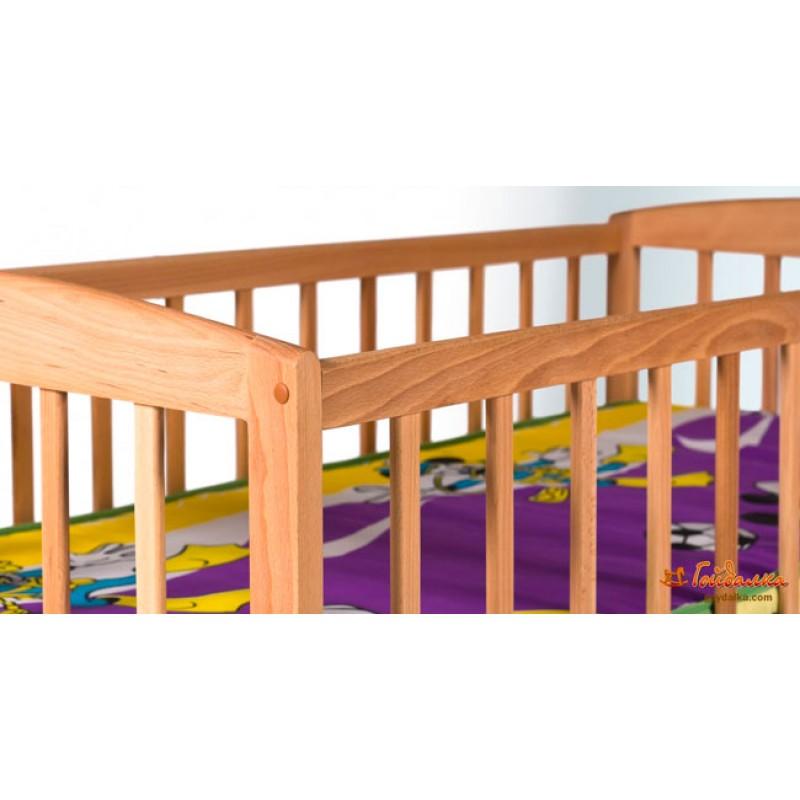 Детская кроватка на дуге Гойдалка