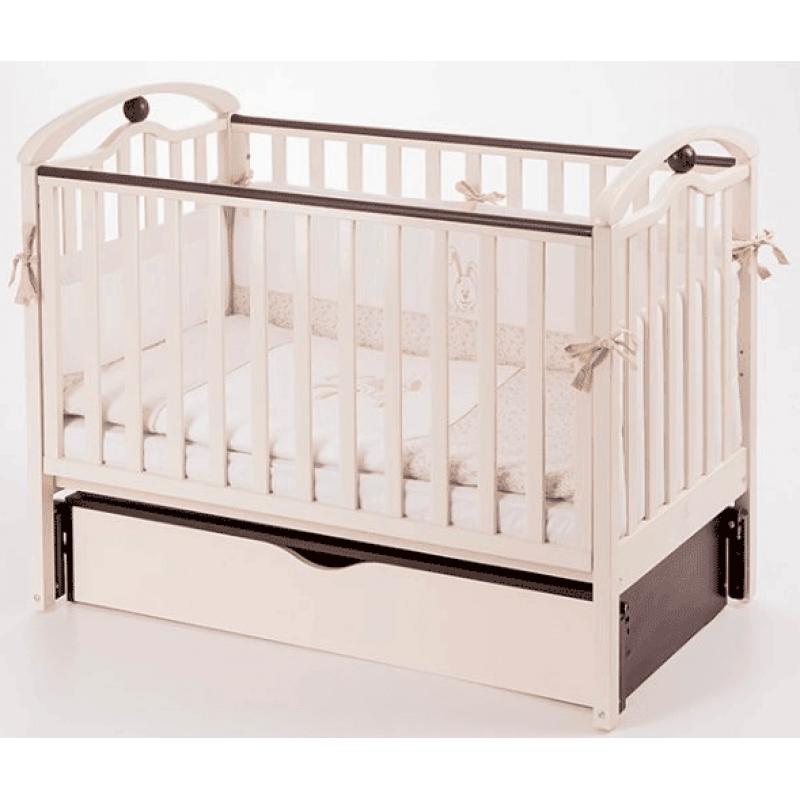 Детская кроватка Верес ЛД5 Соня маятник/ящик