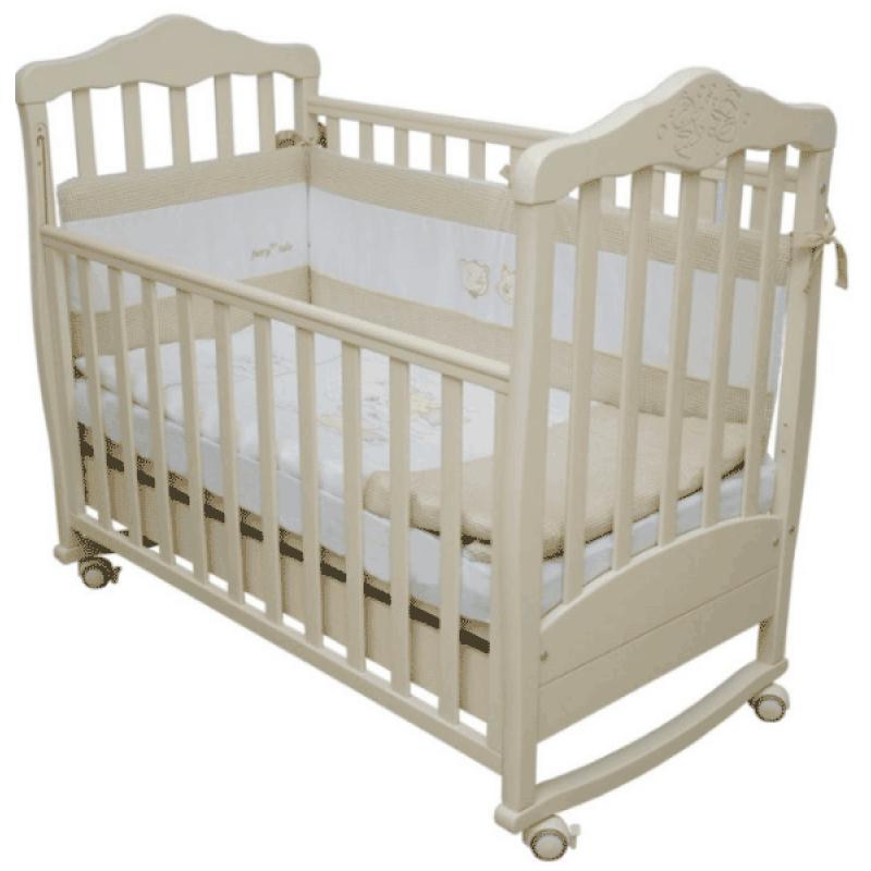 Детская кроватка на дуге с ящиком Соня ЛД-11