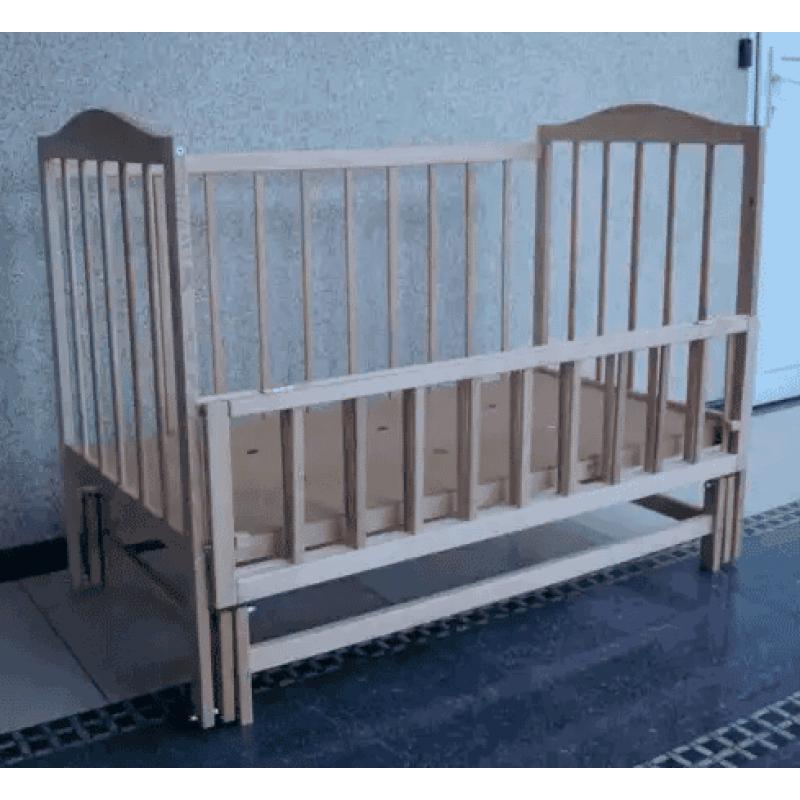 Детская кроватка Sofia S-4 ольха на маятнике