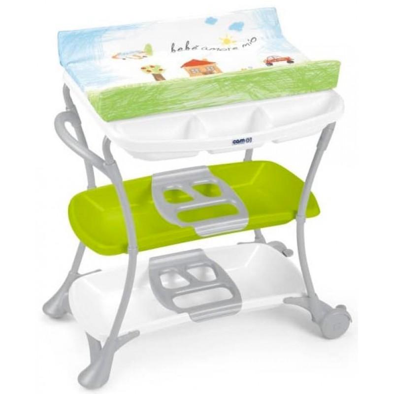 Столик для пеленания с ванночкой Cam Nuvola
