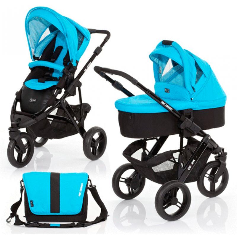 Универсальная детская коляска 2 в 1 ABC design Cobra