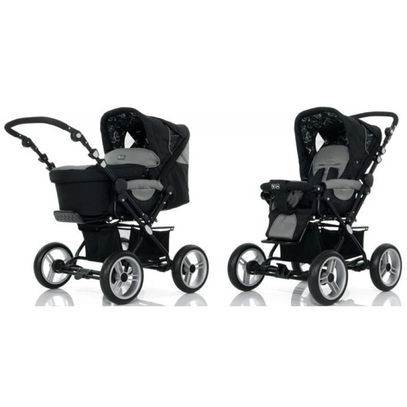Универсальная детская коляска 2 в 1 ABC design Pramy Luxe