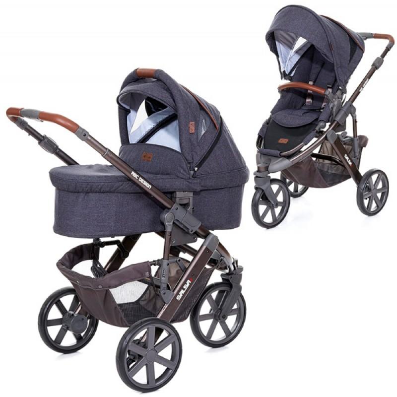 Универсальная коляска для новорожденного 2 в 1 ABC design Salsa 3