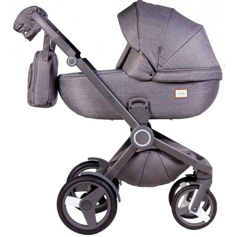 Коляска детская 2 в 1 универсальная Adamex Avero
