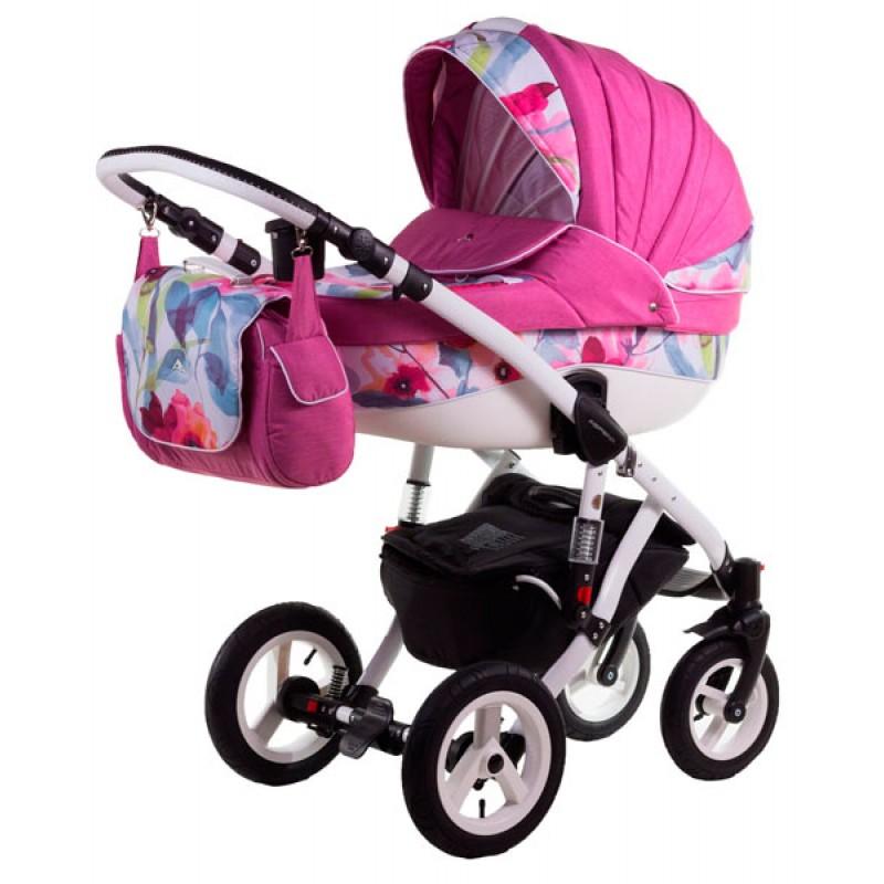 Детская коляска 2 в 1 Adamex Aspena Акварель