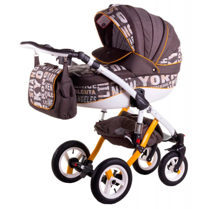 Детская универсальная коляска 2 в 1 Bexa D'angela