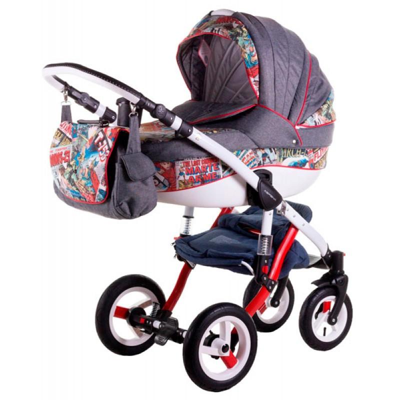 Детская коляска 2 в 1 Adamex Aspena World Collection