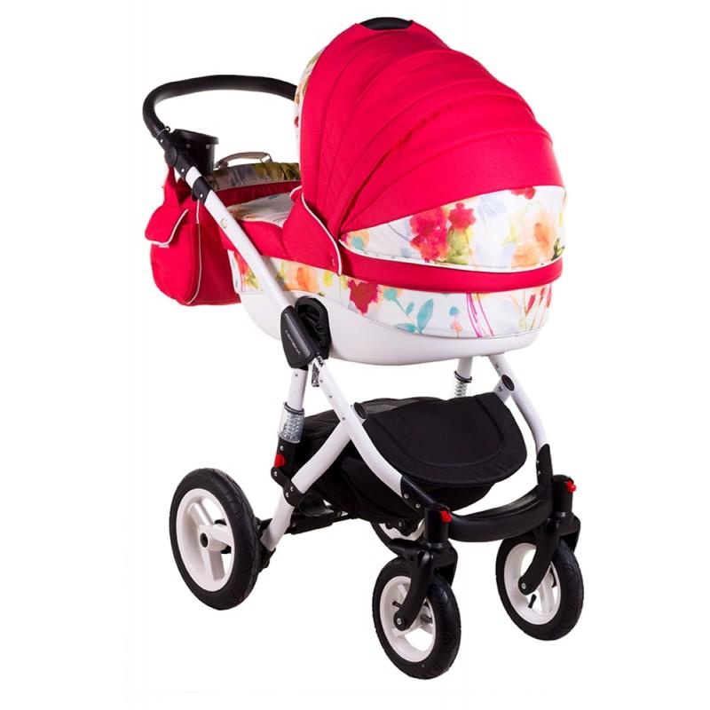 Коляска для новорожденного 2 в 1 Adamex Aspena