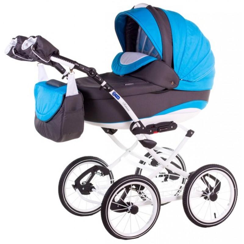 Детская универсальная коляска 2 в 1 Adamex Katrina ECO