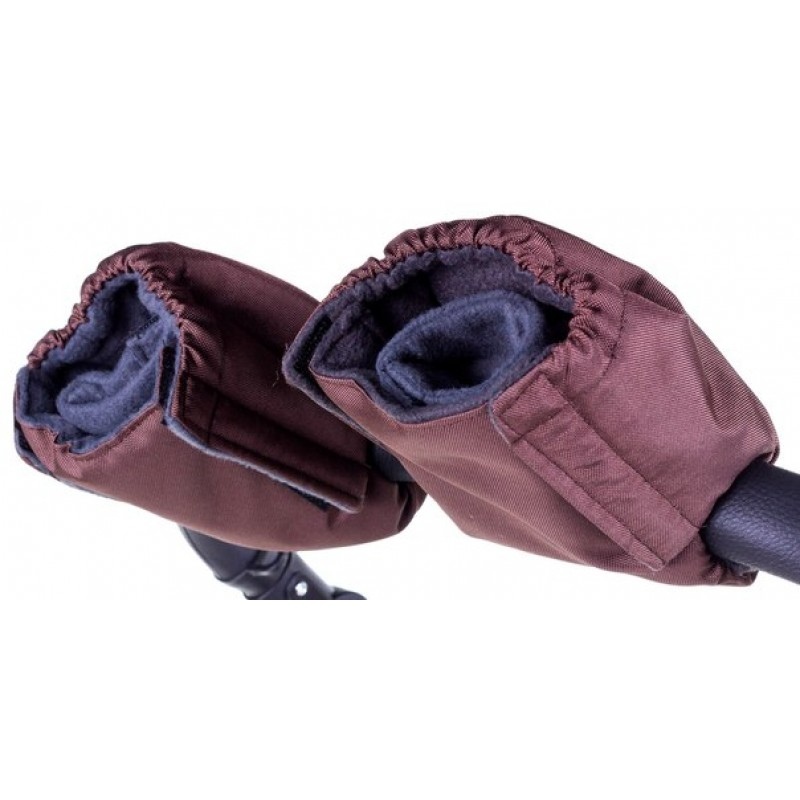 Теплые рукавицы для коляски