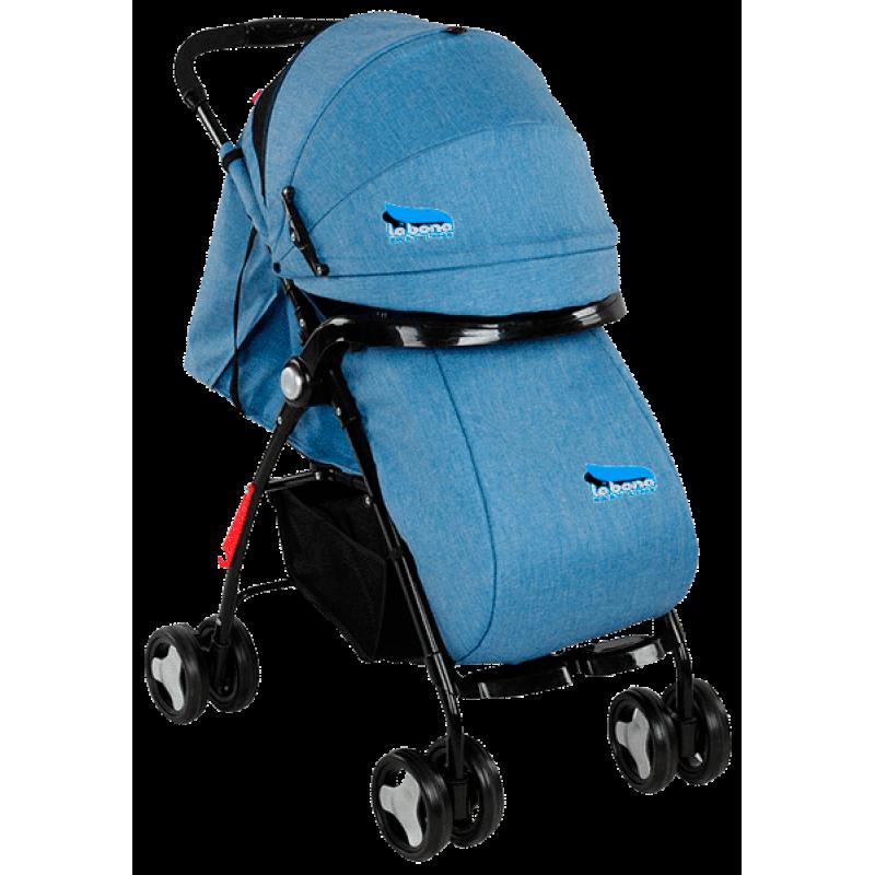 Легкая детская прогулочная коляска книжка Labona