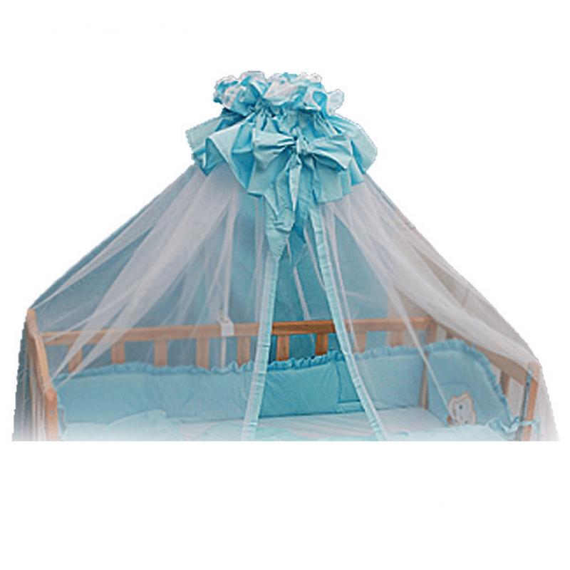 Балдахин на детскую кроватку 3 м сетка