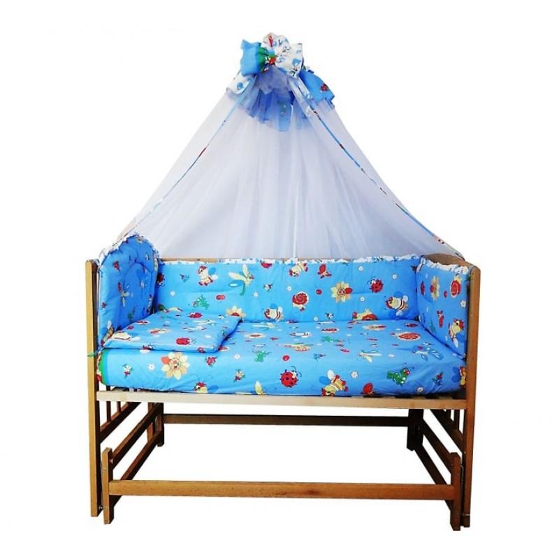 Детский комплект постельного белья Соня из 7 элементов