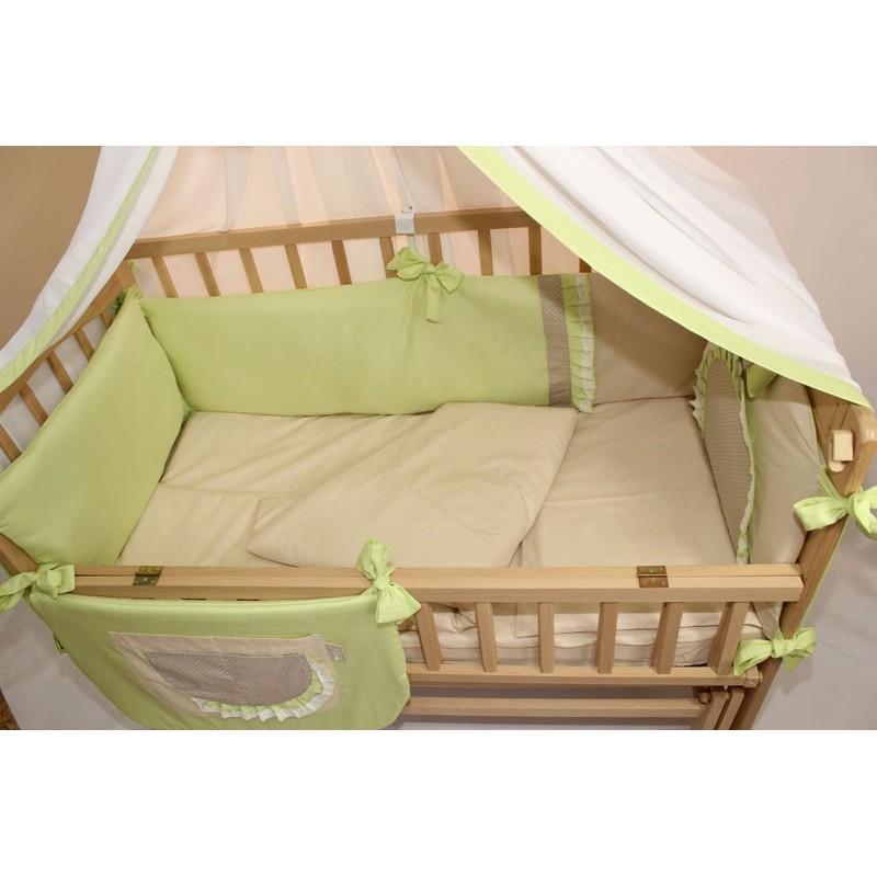 Комплект в детскую кроватку 8 предметов Homefort