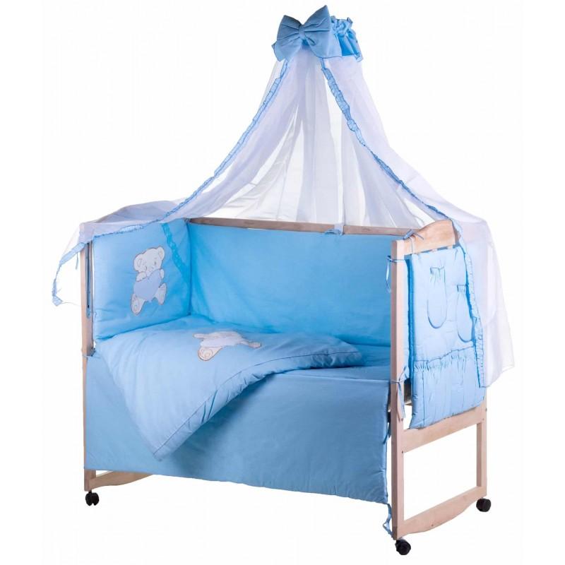 Комплект детского постельного белья Qvatro Ellite AE 08 предметов аппликация