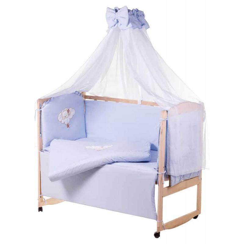 Комплект детского постельного белья Qvatro Gold AG 8 элементов апликация