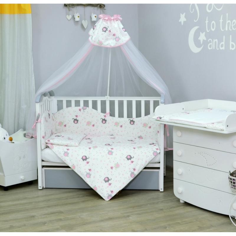 Комплект постельного белья новорожденному Верес Elephant 7 предметов
