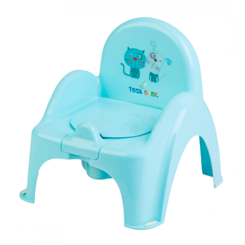 Детский горшок-кресло Cat & Dog Tega